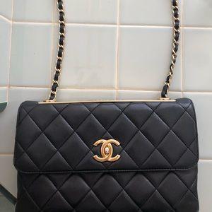 chanel classic double flap handbag
